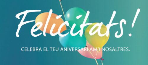 Celebra la teva festa amb nosaltres